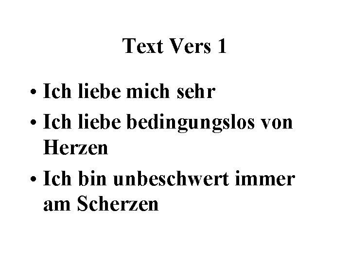 Gibt text liebe es bedingungslose alle Song