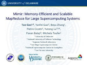 Mimir MemoryEfficient and Scalable Map Reduce for Large