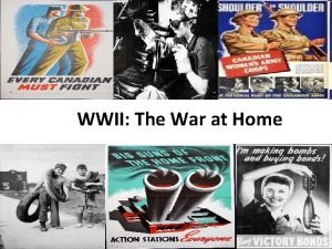 WWII The War at Home Total War By