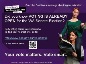 Send the Coalition a message about higher education