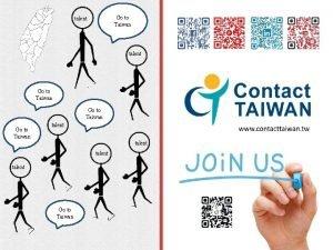Go to Taiwan talent Go to Taiwan talent