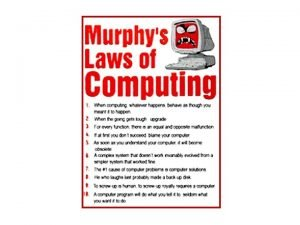 Murphys Computer Laws Law 1 The remaining work
