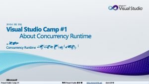 2010 8 28 Visual Studio Camp 1 Visual