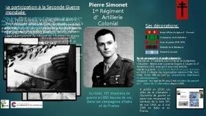 Sa participation la Seconde Guerre mondiale 1944 Italie