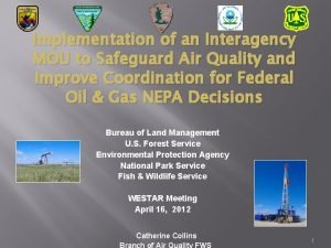 Implementation of an Interagency MOU to Safeguard Air
