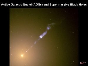 Active Galactic Nuclei AGNs and Supermassive Black Holes