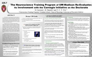 225 7 The Neuroscience Training Program of UWMadison