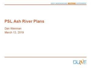 PSL Ash River Plans Dan Wenman March 13
