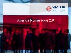 Agenda Numrique 2 0 Bulletin numrique Bulletin numrique
