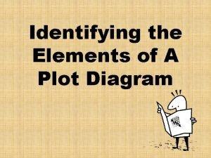 Identifying the Elements of A Plot Diagram Plot