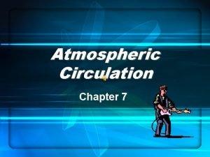 Atmospheric Circulation Chapter 7 Atmospheric circulation Global Covers