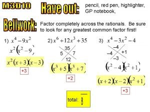 pencil red pen highlighter GP notebook Factor completely