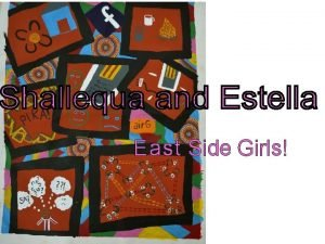 East Side Girls This book was made in
