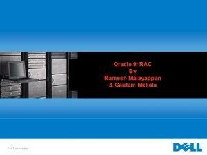 Oracle 9 i RAC By Ramesh Malayappan Gautam