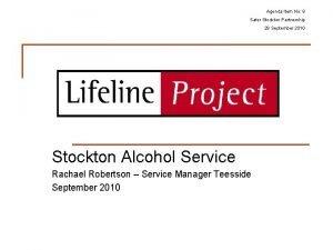 Agenda Item No 8 Safer Stockton Partnership 28