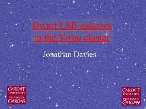 Dwarf LSB galaxies in the Virgo cluster Jonathan