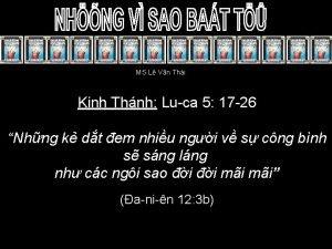 MS L Vn Thi Kinh Thnh Luca 5