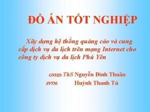 N TT NGHIP Xy dng h thng qung