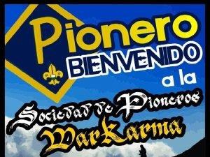 GUA DE ESPECIALIDADES SOCIEDAD DE PIONEROS WARKARMA ALTO