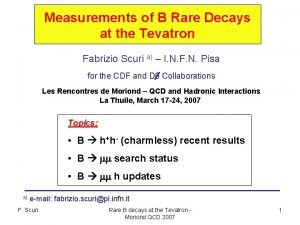 Measurements of B Rare Decays at the Tevatron