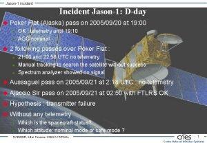Jason1 incident Incident Jason1 Dday u Poker Flat
