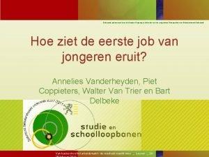 Onderzoek gefinancierd door de Vlaamse Regering in het
