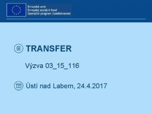 TRANSFER Vzva 0315116 st nad Labem 24 4