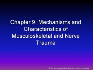 Chapter 9 Mechanisms and Characteristics of Musculoskeletal and