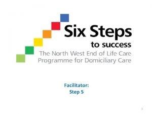 Facilitator Step 5 1 Review Recap Step 4