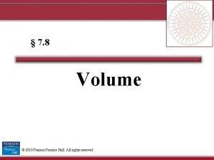 7 8 Volume 2010 Pearson Prentice Hall All