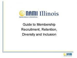 Guide to Membership Recruitment Retention Diversity and Inclusion