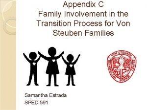 Appendix C Family Involvement in the Transition Process