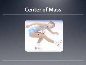 Center of Mass Center of Mass The center