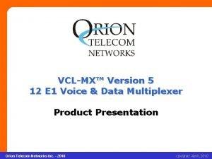 VCLMX Version 5 12 E 1 Voice Data