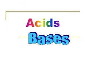 n n n Taste sour Form solution that