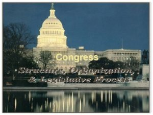 Congress WHOS IN CONGRESS Demographic Profile of the