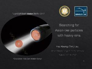Light Dark Matter Sector 2017 Light Dark Matter