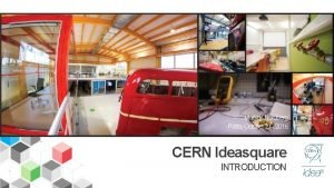 Markus Nordberg Porto October 21 2016 CERN Ideasquare