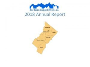 2018 Annual Report BRHNS 2018 FOOTPRINT From July