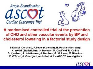 A randomised controlled trial of the prevention of