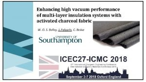 Enhancing high vacuum performance of multilayer insulation systems
