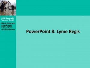 Power Point 8 Lyme Regis Lyme Regis panorama