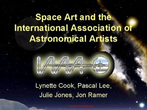 Space Art and the International Association of Astronomical