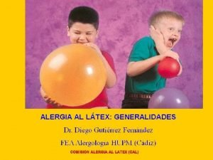 COMISION ALERGIA AL LATEX CAL CAL CAL Gnero