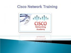 Cisco Network Training Per Trajnimin Cisco Routing Switching