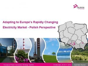 Adapting to Europes Rapidly Changing Electricity Market Polish