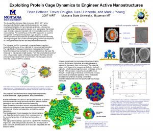 Exploiting Protein Cage Dynamics to Engineer Active Nanostructures