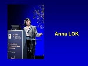Anna LOK Management of Antiviral Resistant Hepatitis B