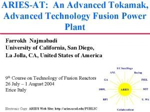 ARIESAT An Advanced Tokamak Advanced Technology Fusion Power