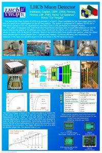LHCb Muon Detector Institutes Cagliari CBPF CERN Ferrara